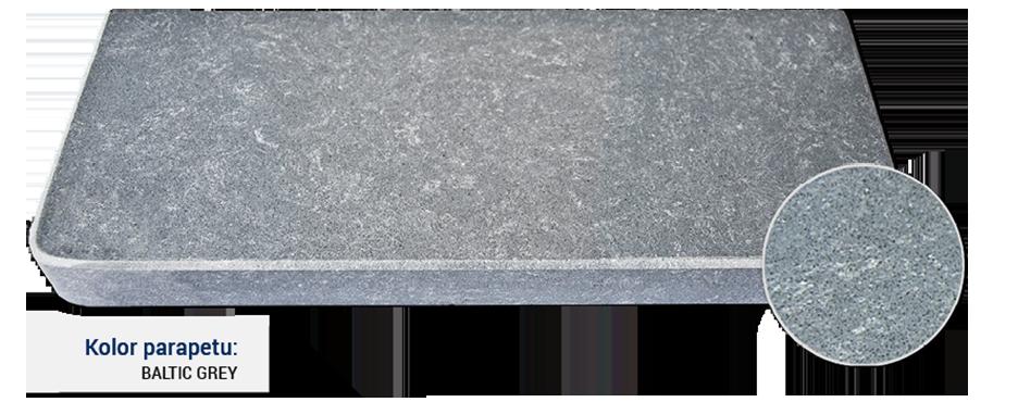 parapet w kolorze baltic grey